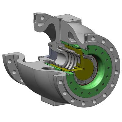 Клапаны предохранительные с пневматической системой управления
