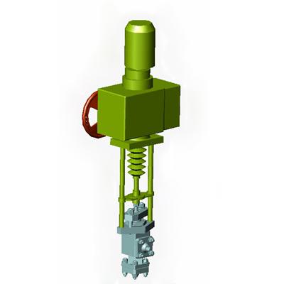 Всережимный много-седельный регулирующий клапан
